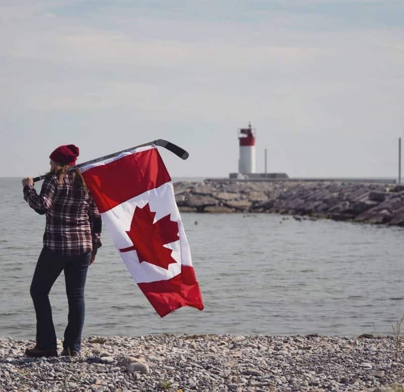 a Canadian goes travelling in the U.K.