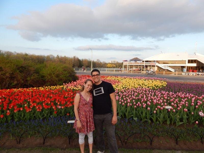 tulip festival in Ottawa