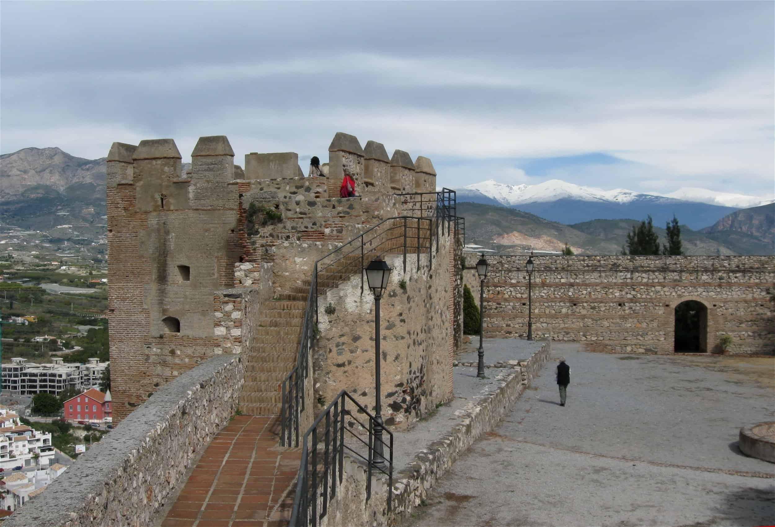 astillo Salobrena Granada