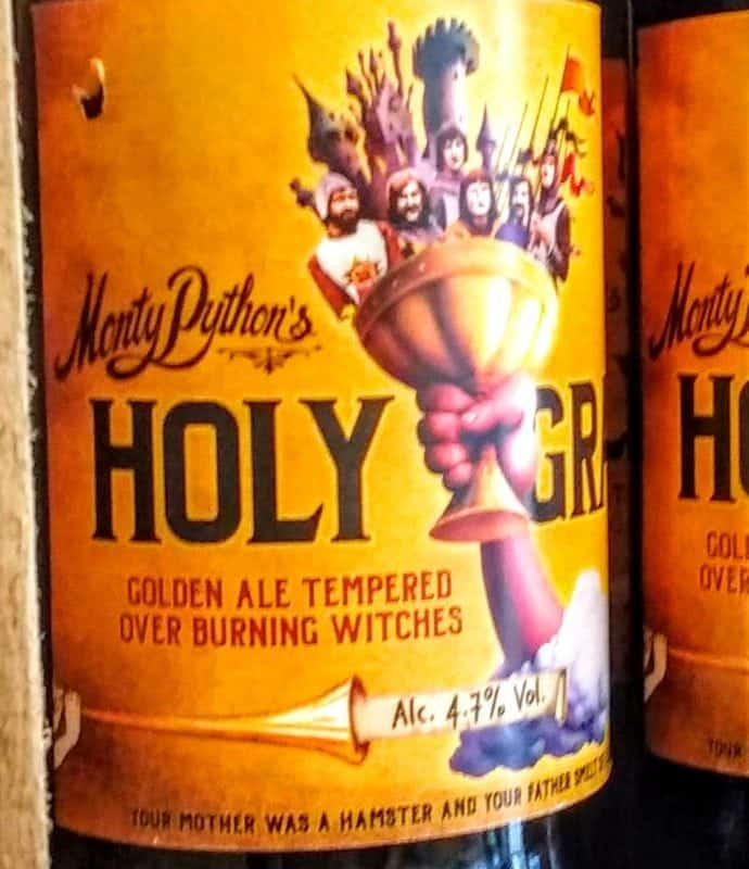 Monty Python Ale in the Yorkshire Ale Trail