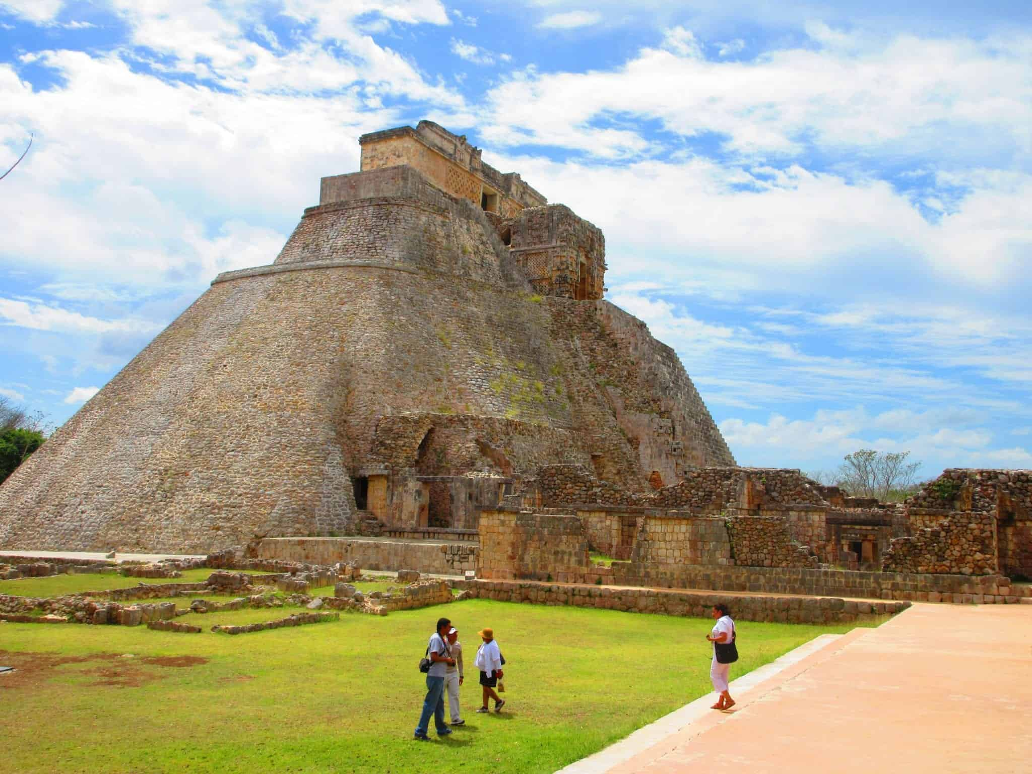 The secret Templo de los Falos at Uxmal Mexico