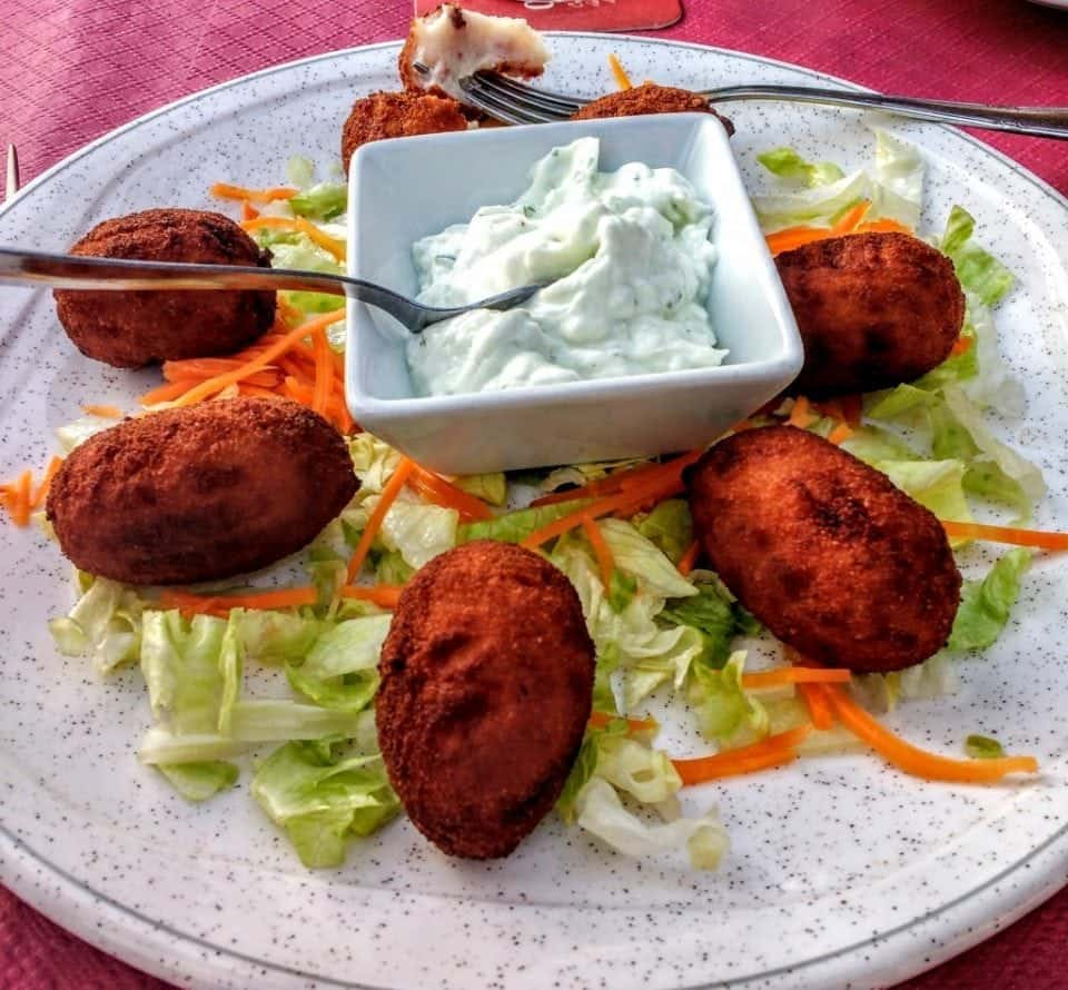 Andalucian croquettes - favourite tapa of Spain