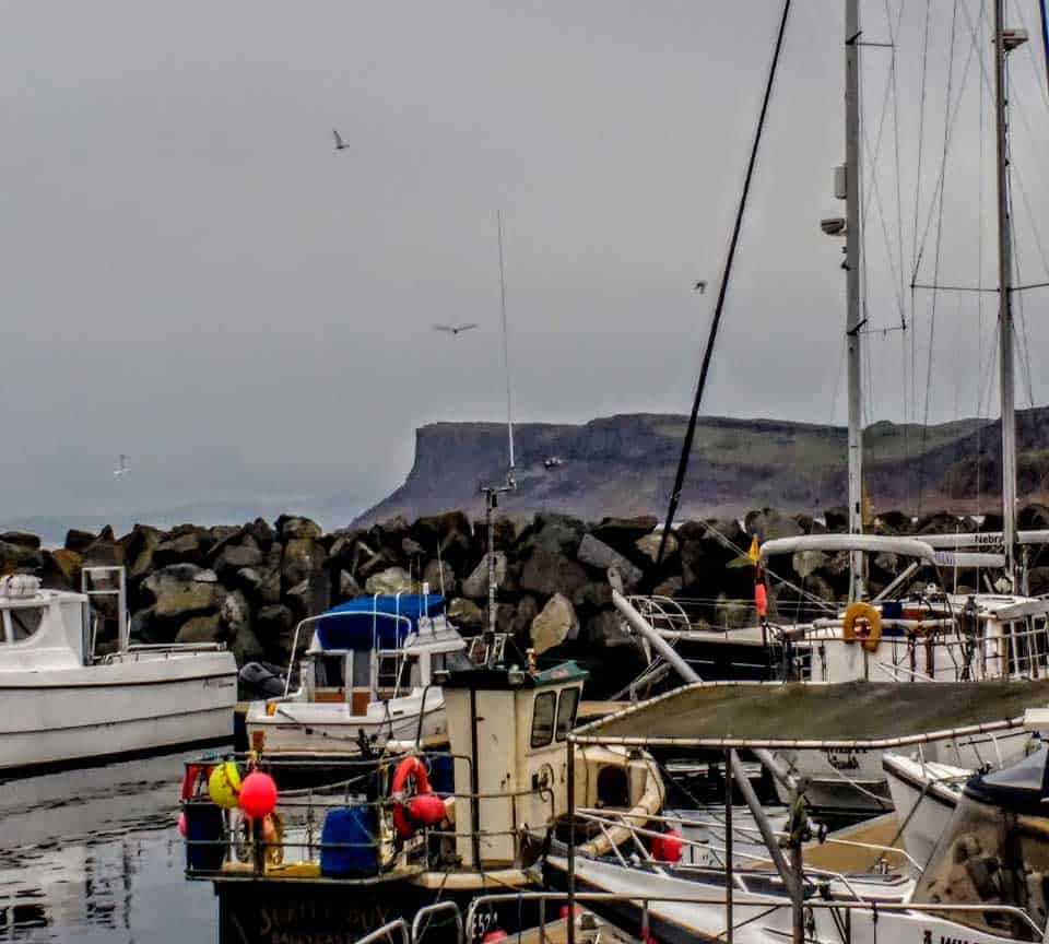 Ballycastle Harbour and Fairhead