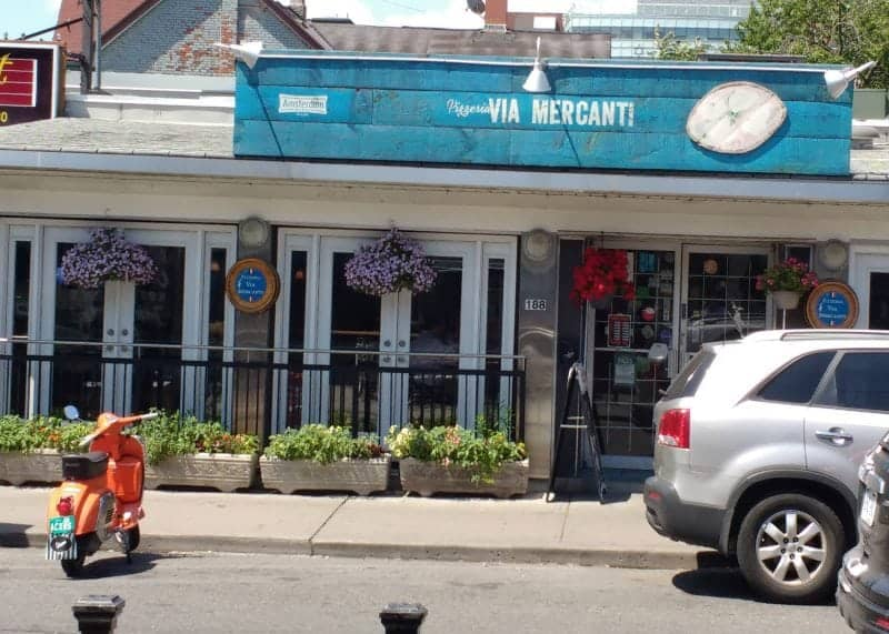 Via Mercanti in Kensington the Best Pizzas in Toronto