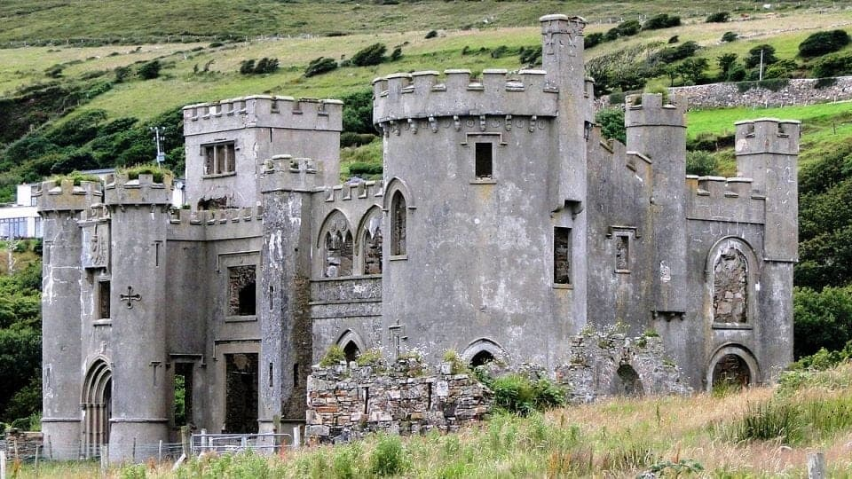 Clifden Castle in Galway said to be one of Ireland's haunted castles