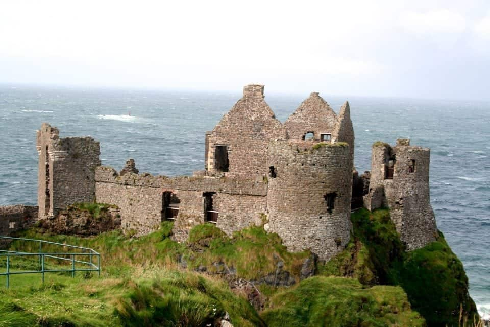 Dunluce Castle another haunted castle in County Antrim