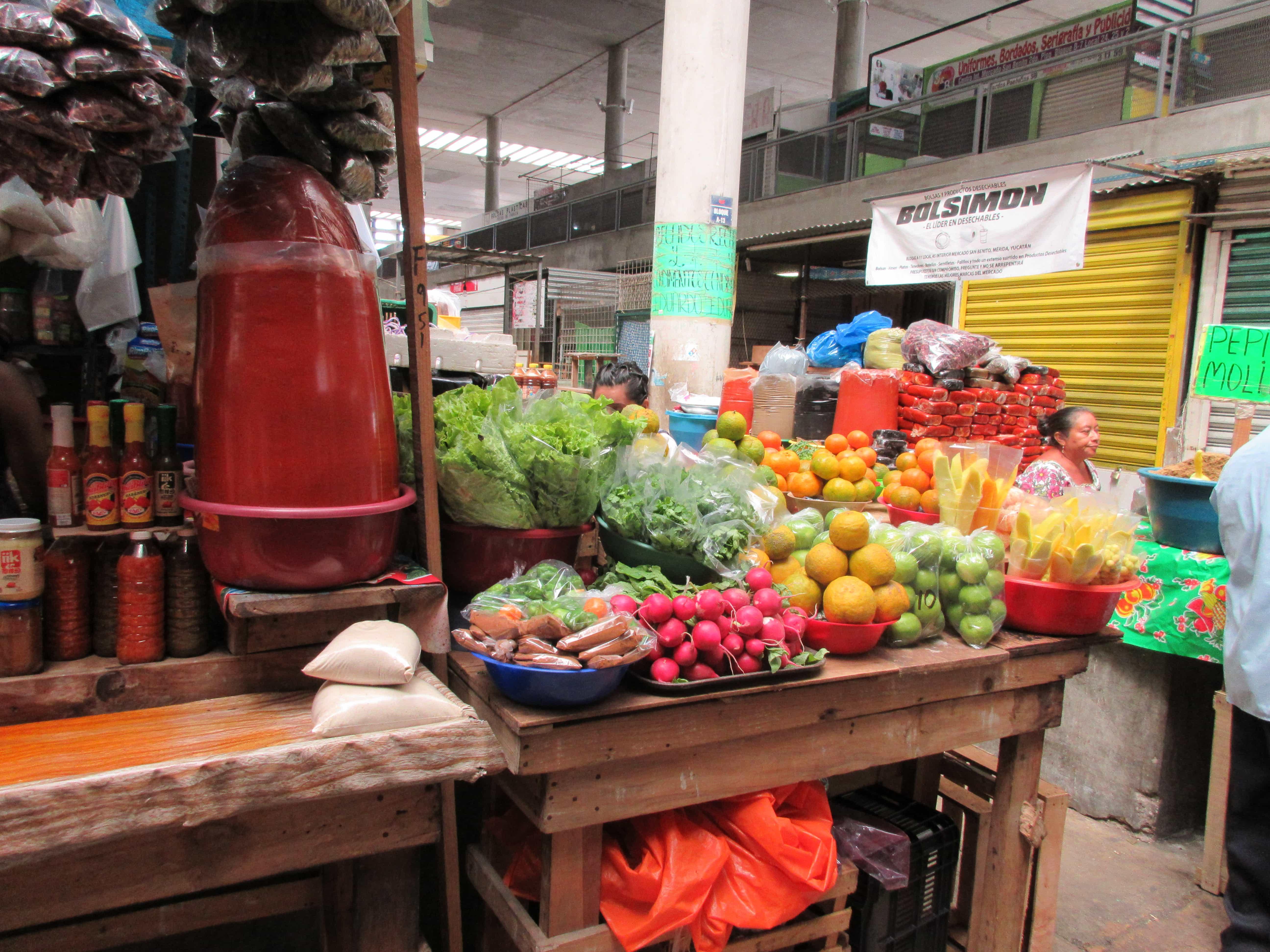 fresh fruit and veg merida mexico