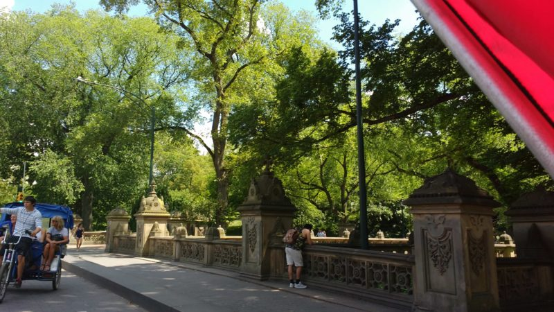entry to Central park New York City
