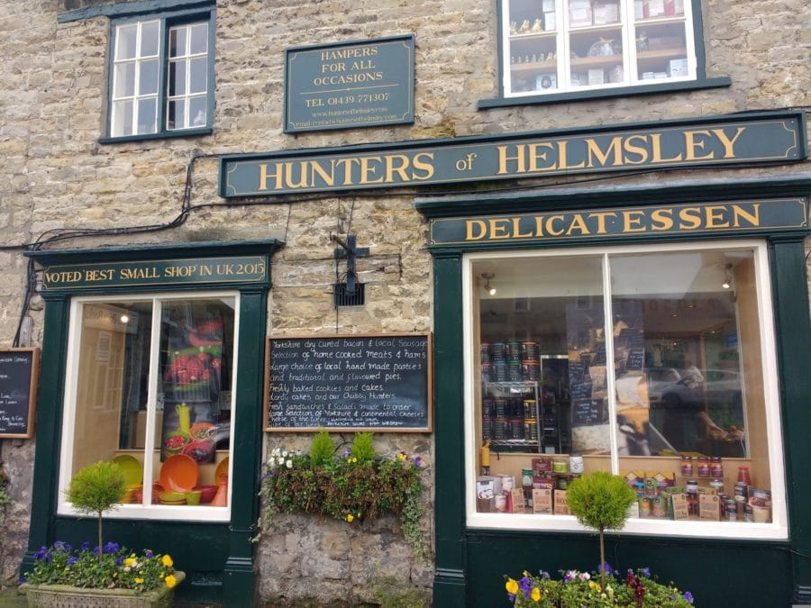 Hunters of Helmsley voted best small shop in the UK
