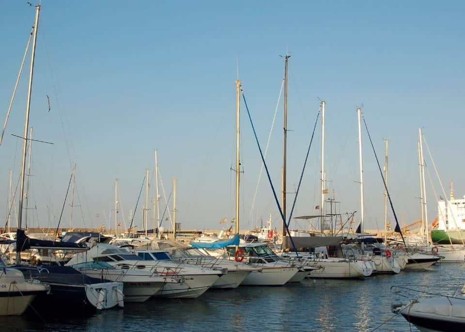 Garrucha harbour on the Costa de Almeria