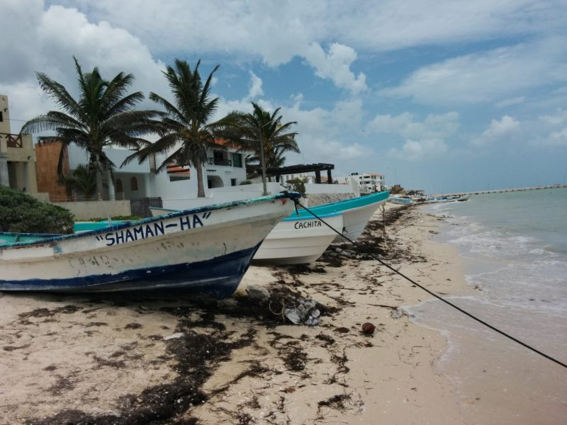 fishing boasts on the beach tips for living in the Yucatan