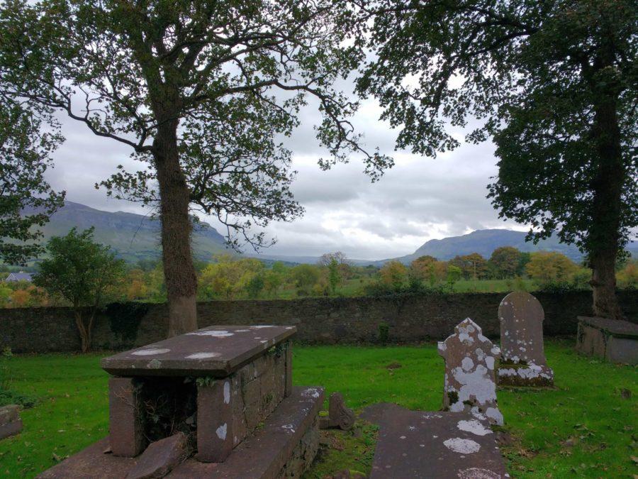 Visiting W.B Yeats Grave in Drumcliffe Cemetery Sligo Ireland