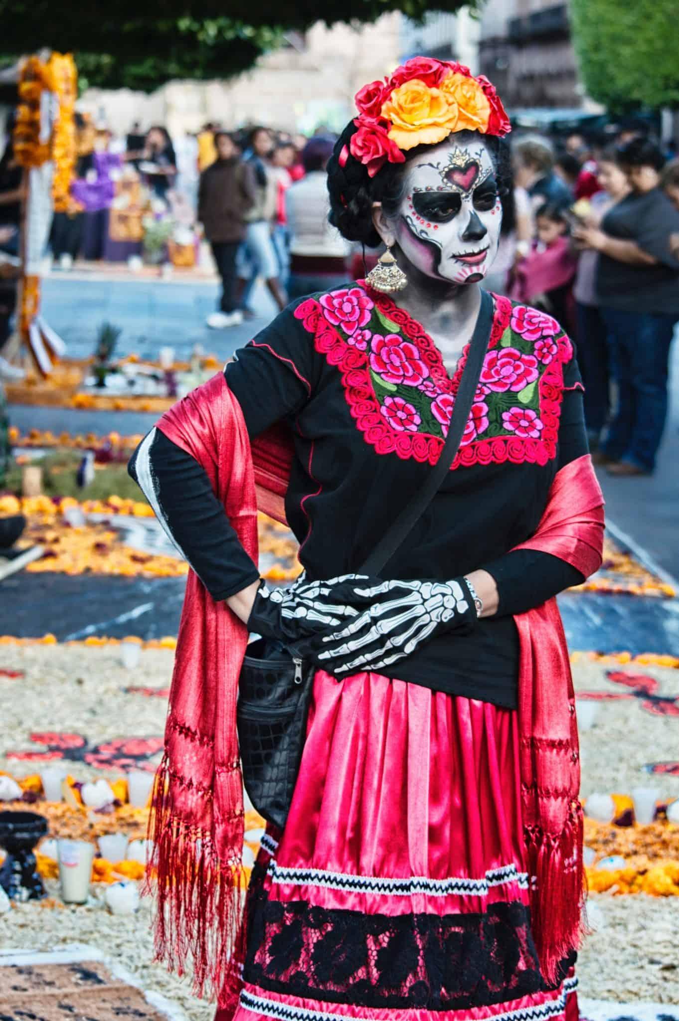 The Day of the Dead - Calavera and dia de los Muertos in Mexico