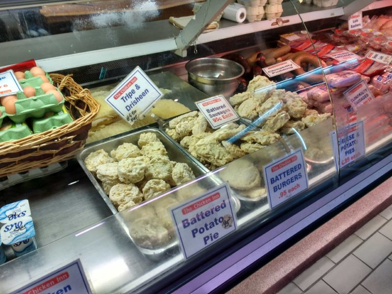 traditional Irish foods at the English Market in Cork