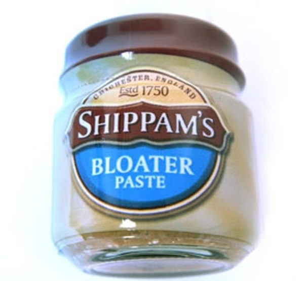 traditional British foods a jar of Bloater paste