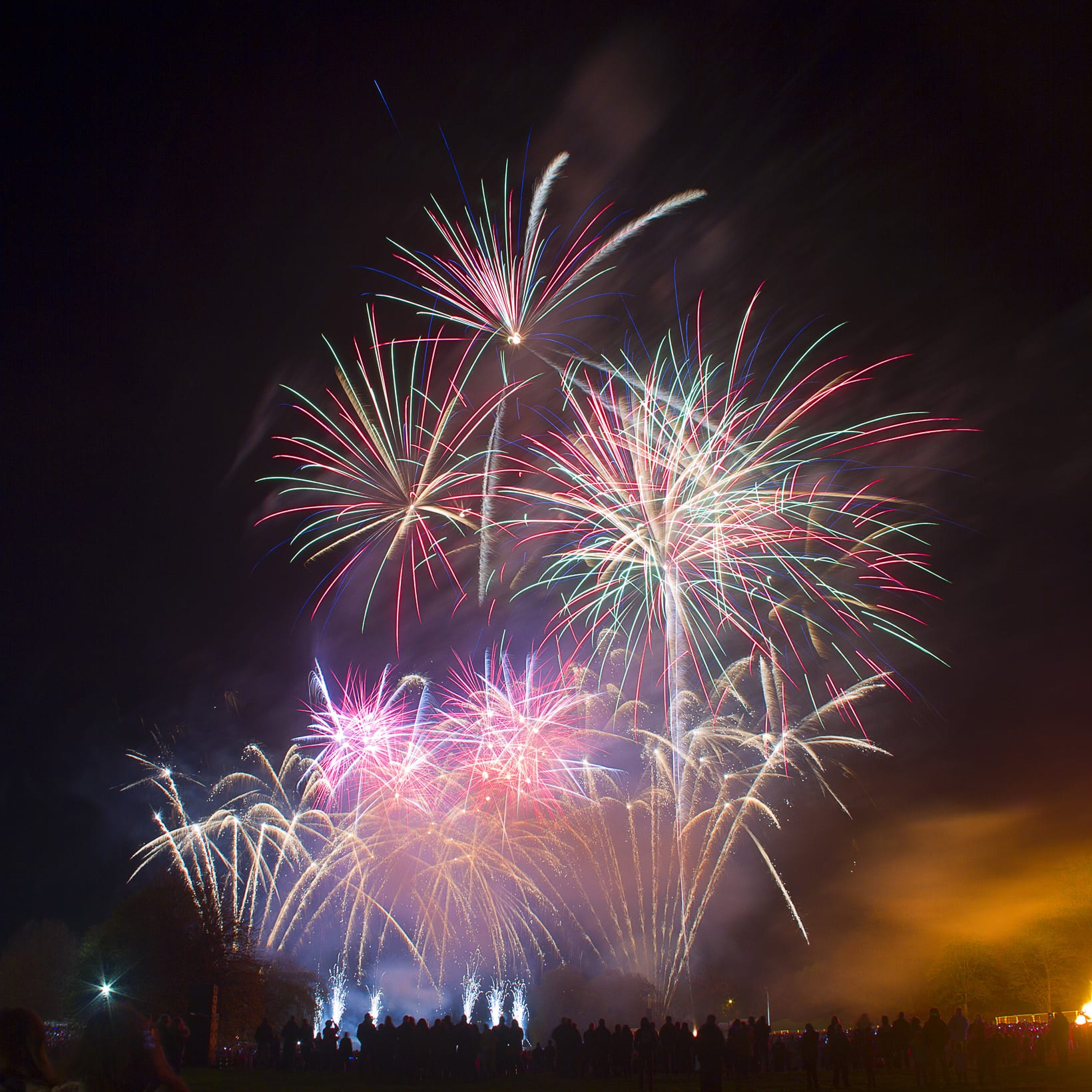 Celebrating 5th November Guy Fawkes Night in England