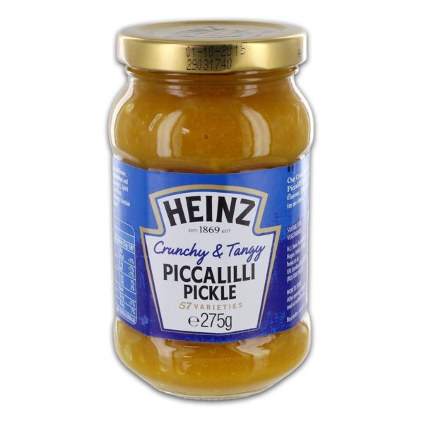 jar of piccalilli condiment
