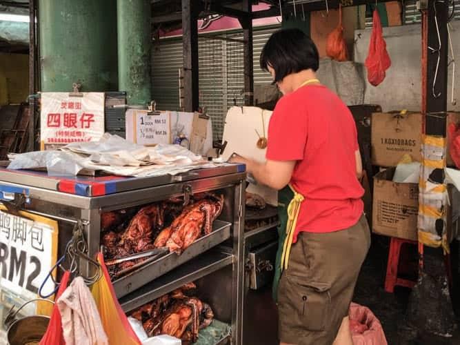 Sze Ngan Chye Cart, Petaling Street, China Town, Kuala Lumpur