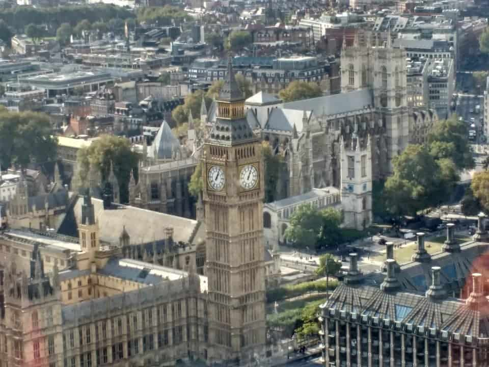 How to move to the UK a view of Westminster