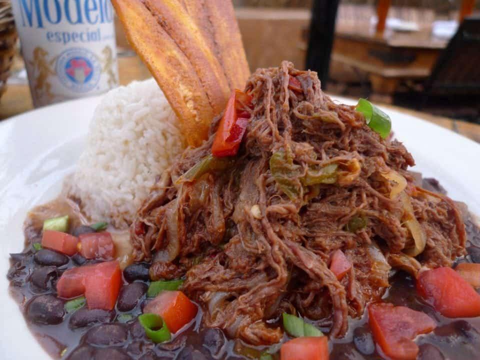 Ropa Vieja a favourite Cuban dish