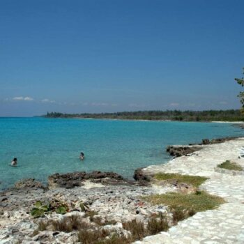 Playa Giron Bay of pigs beach Cuba