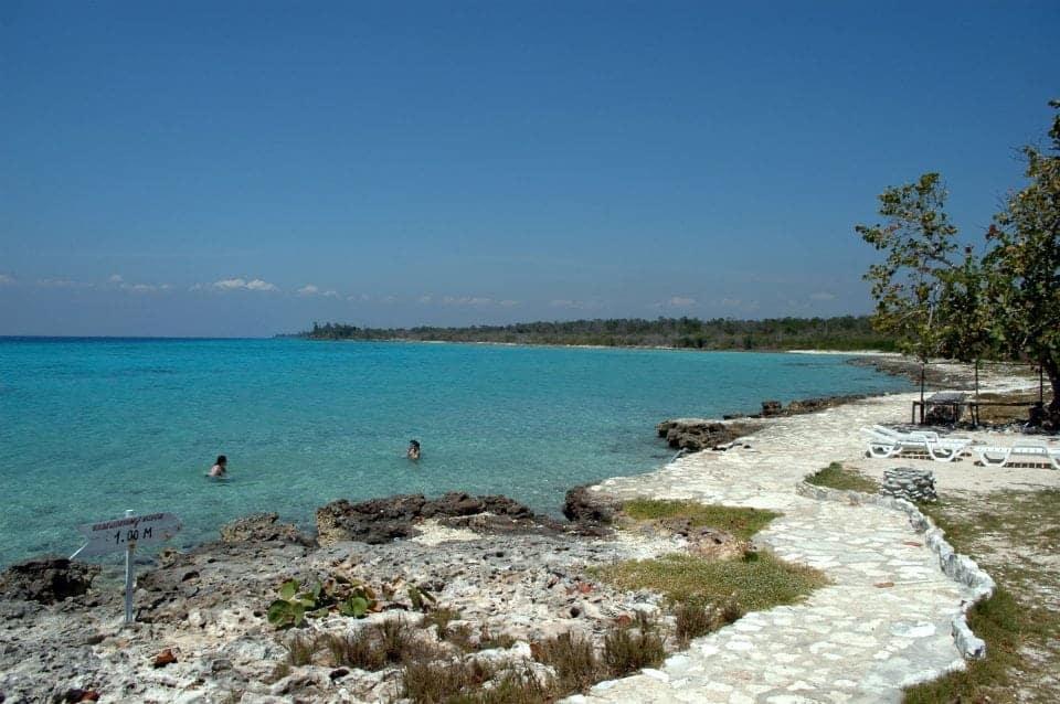 Playa Giron Bay of pigs beach Cuba