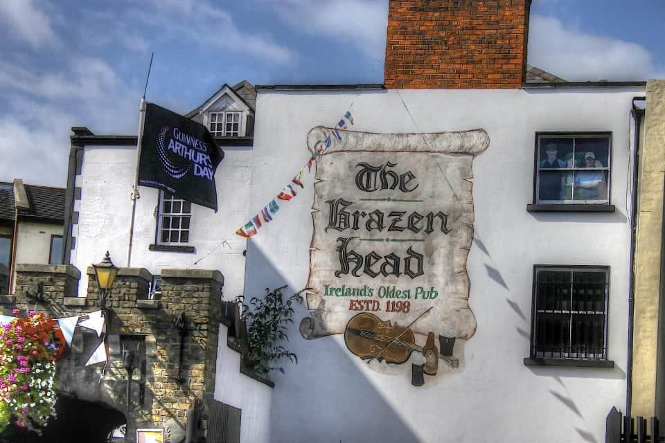 the Brazen head pub the most famous pubs in Dublin