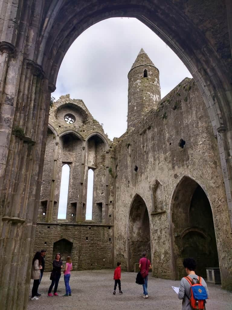 The rock of Cashel in Ireland is one of the must visit sites when visiting Tipperary