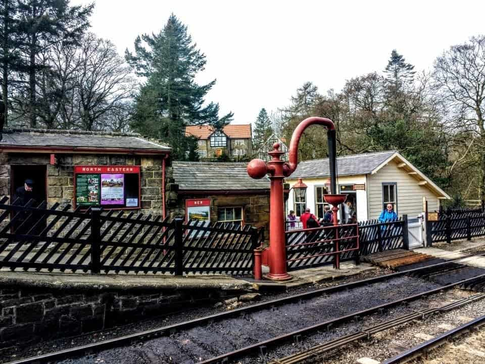 North Yorkshire Moors steam train to Hogsmeade #hogwarts #harrypotter #steamtrains #NYMR #Yorkshire #visitYorkshire #england #visitEngland #NorthernEngland #themoors #York #vikings #heritagetrains #goathland