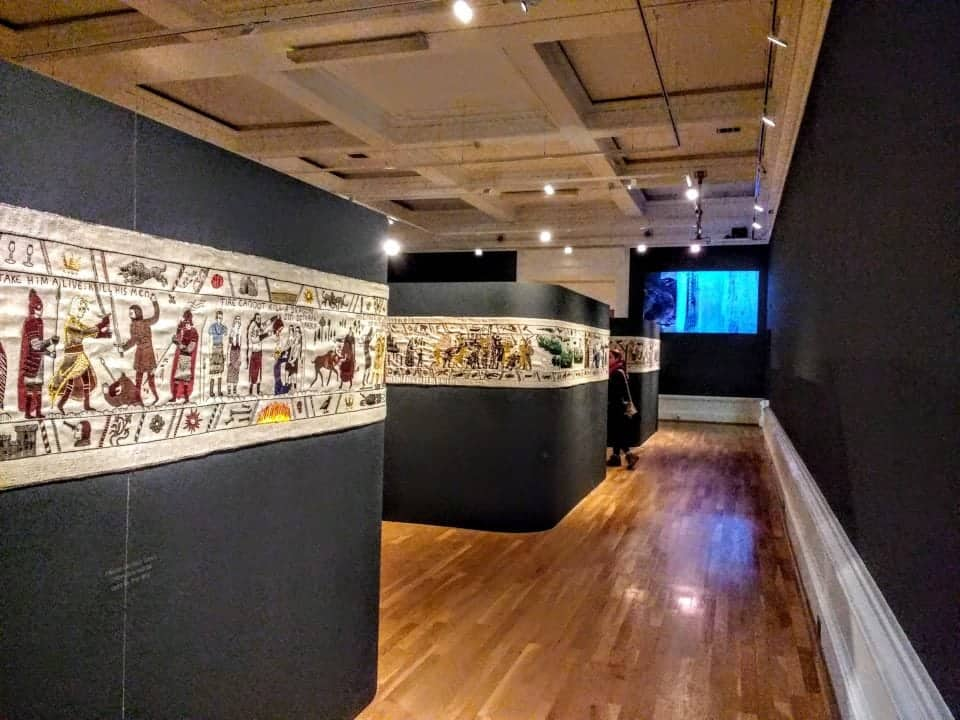 display of the Game of Thrones Tapestry in the Ulster Museum