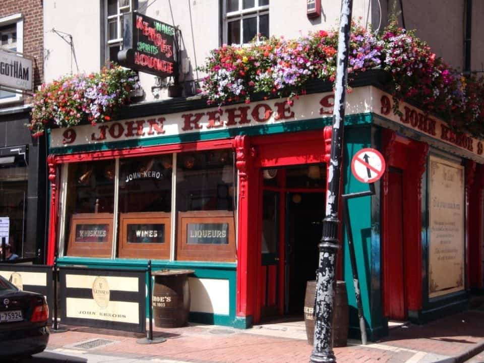 John Kehoe's pub in Dublin one of the oldest and smallest of Dublin's pubs