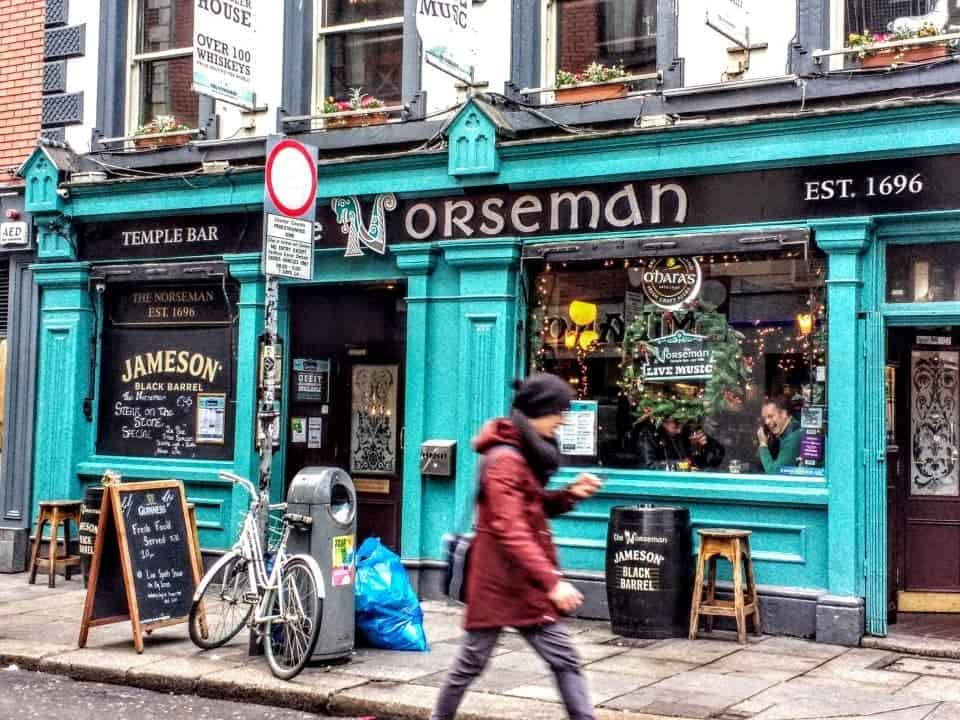 The Norseman Pub in Temple Bar
