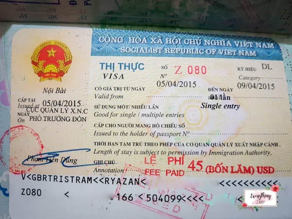 Vietnam visa scams - massive travel fails