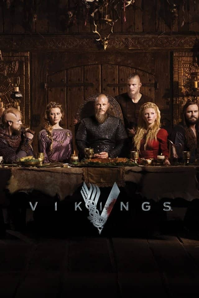 Vikings TV show - photo of cast via The History Channel