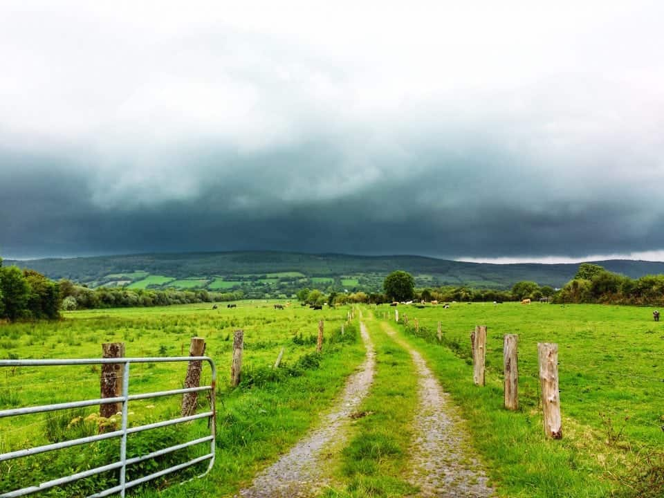 Ireland's hidden heartlands in the Ancient East, a view of the Galtee mountains