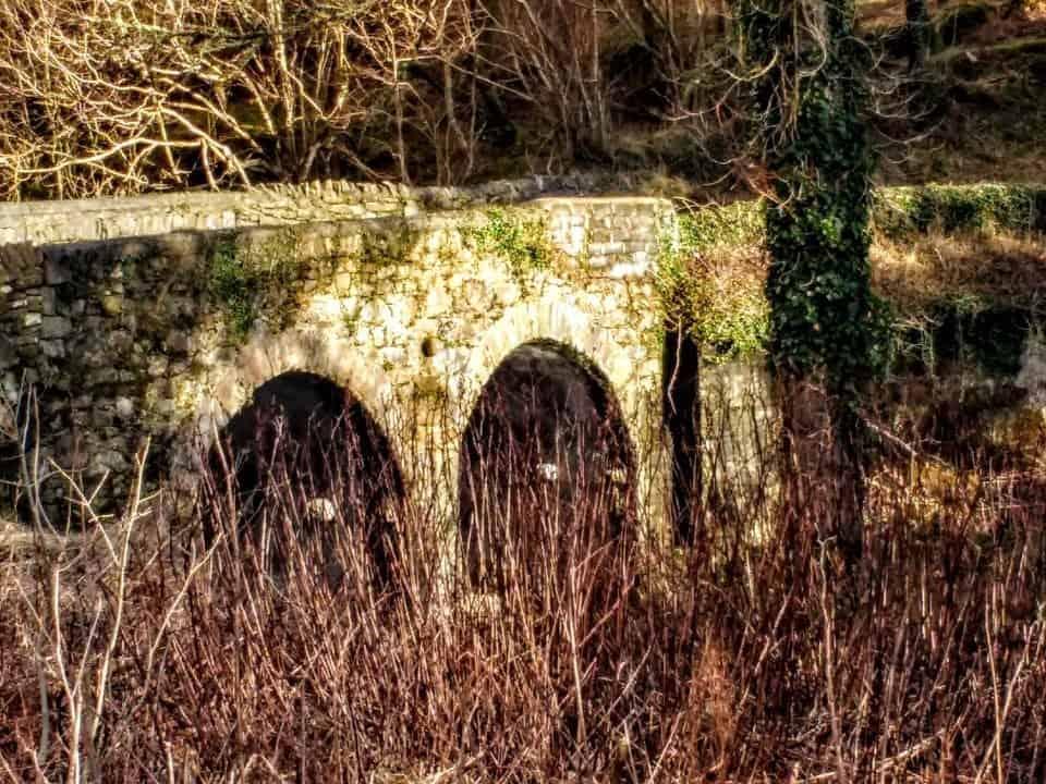 Bridge near Randalstown where Jamie and Brienne where fighting