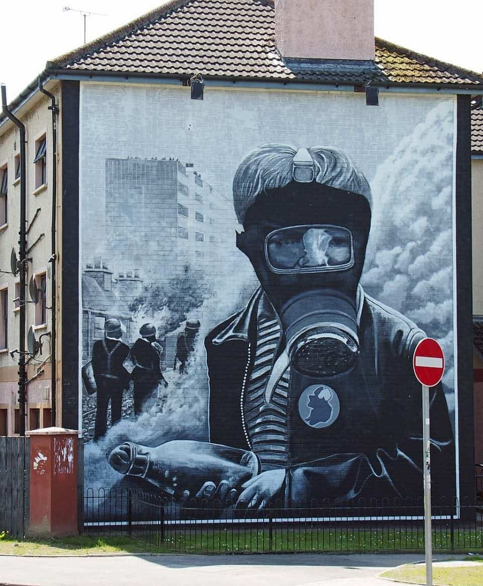 murals of Derry
