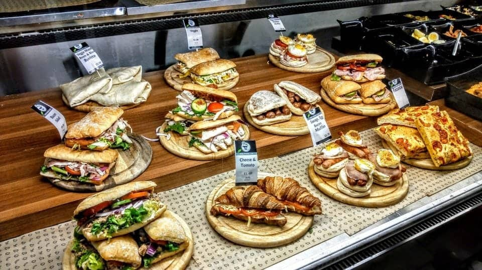 remarkable selection of petrol station deli sandwiches