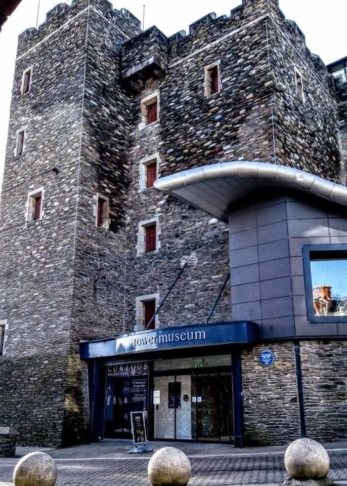 The Tower Museum one of the many things to do in Derry