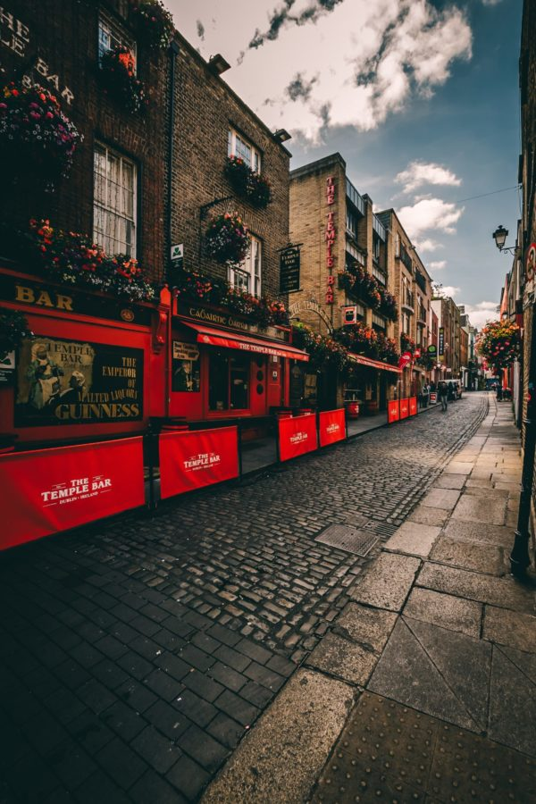 Temple Bar in Dublin travel to Ireland