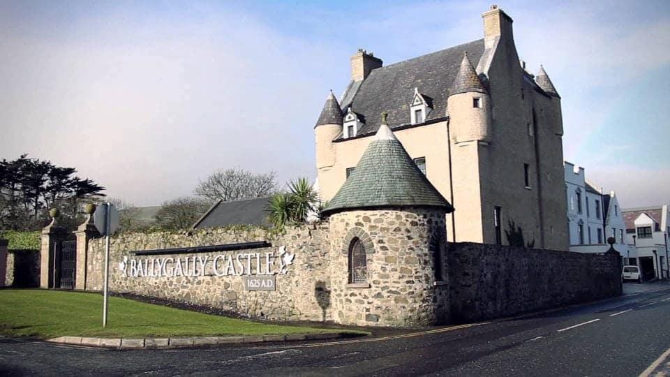 ballygally castle hotel Game of Thrones Door 9