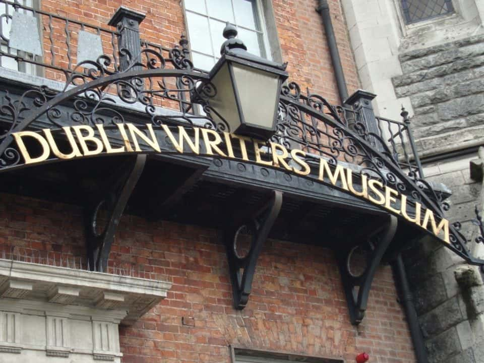 the Dublin Writer's Museum another must do when visiting Ireland