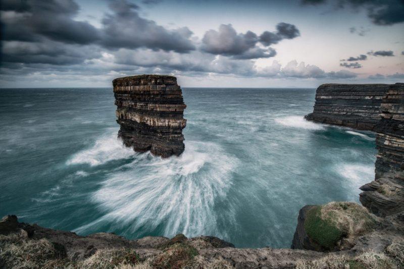 Dun Briste Sea Stacks in Mayo Ireland