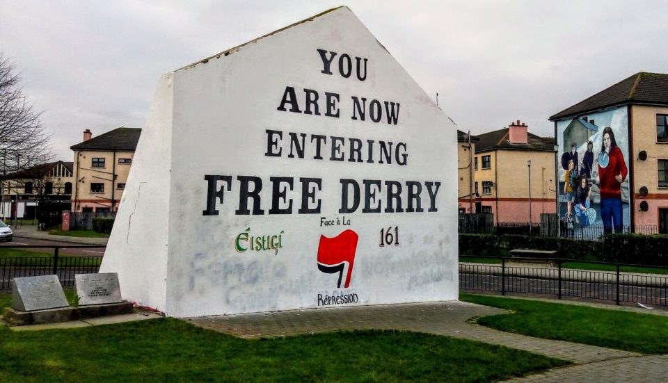 free Derry mural