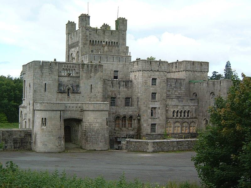 Gosford Castle a private castle used in the filming of Game of Thrones