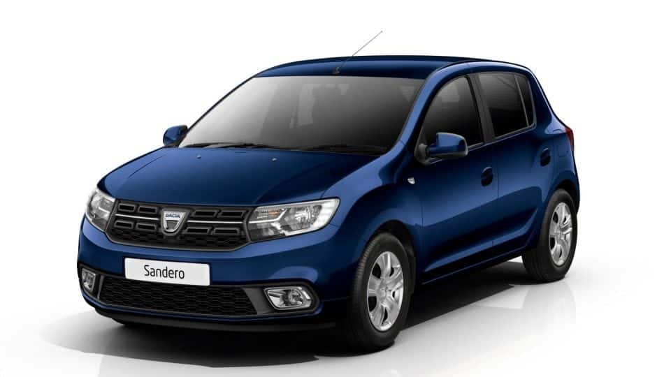 small cars in Ireland the Dacia Sandero