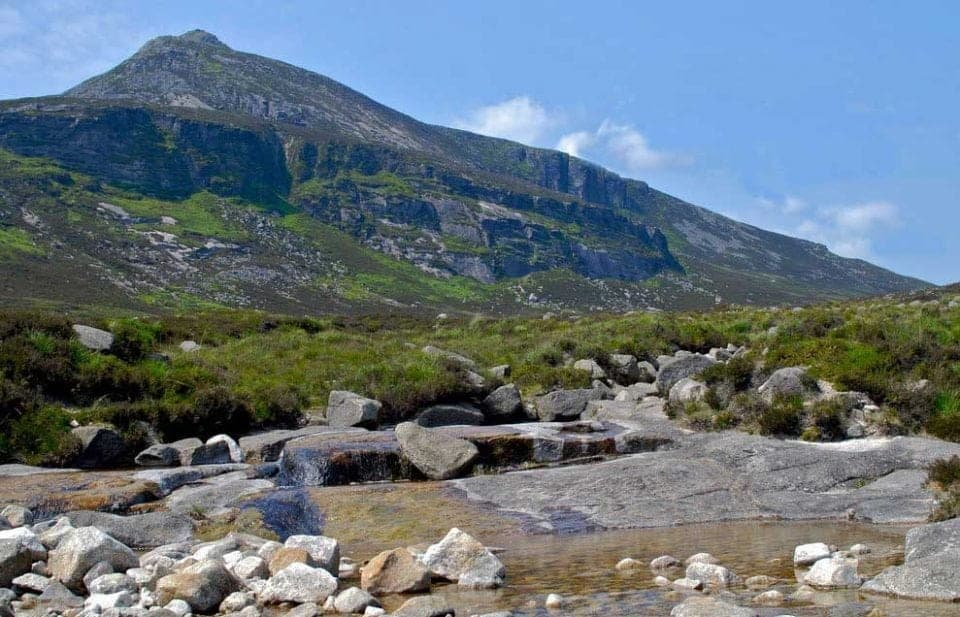 Sandy Brae area in the Mourne Mountains which played the Dothraki grasslands in the Game of Thrones