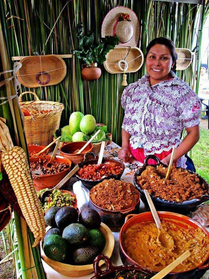 Food in the Yucatan distinctively different than traditional Mexican
