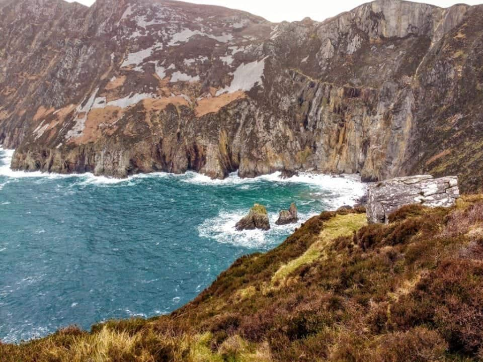 Slieve League seacliffs Donegal Ireland