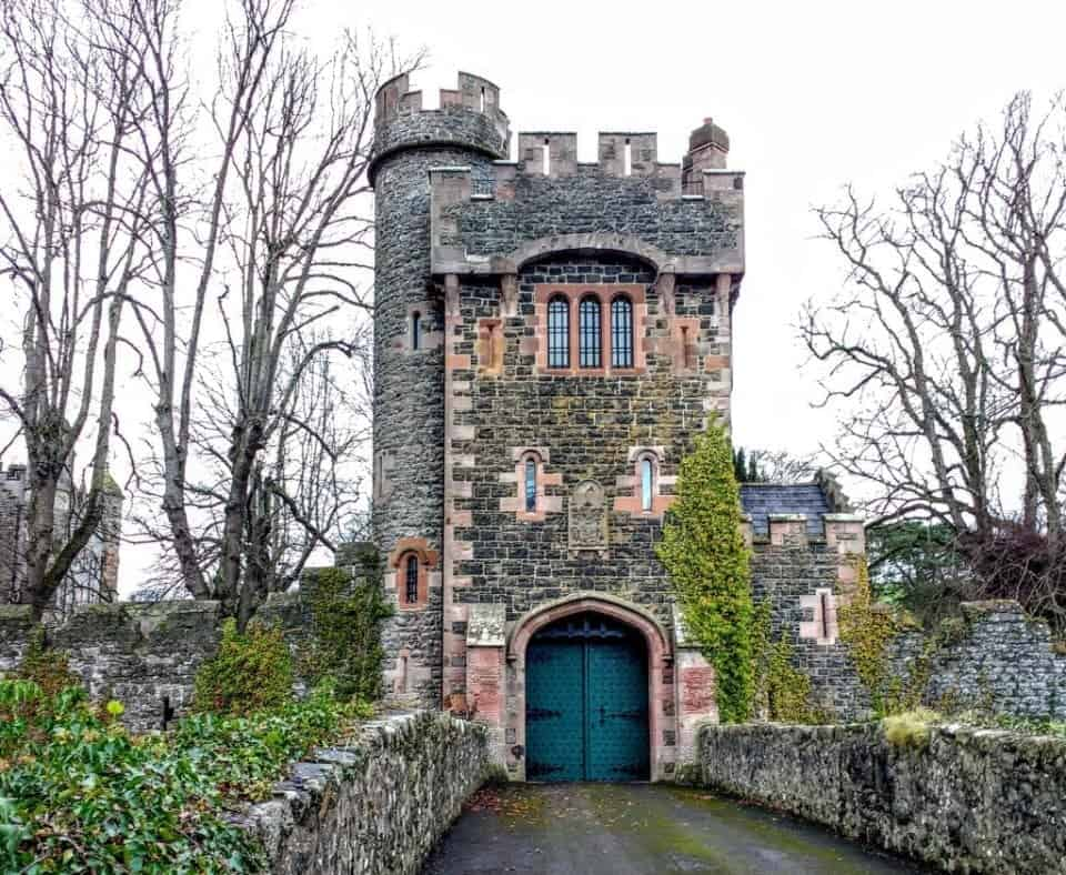 The Barbican gate in Glenarm what to do from Belfast
